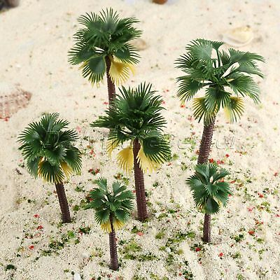 """Palm Tree DieCast Painted 7/"""" Tall   O or G scale....??"""