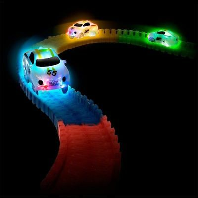 LED Cars for MAGIC TRACKS Glow in the Dark LED LIGHT CAR RACE Racetrack Toys UK