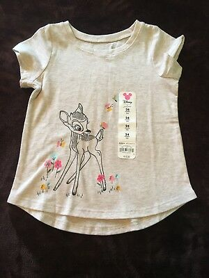 ae091bec3 DISNEY'S BAMBI BABY Girl Graphic Tee by Jumping Beans Size 24 months ...