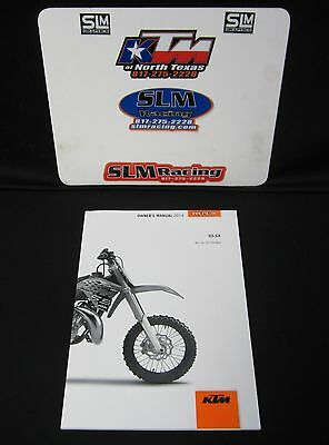 Ktm Owners Manual Book 2014 65 Sx 3213028En Mx Dirtbike Motocross
