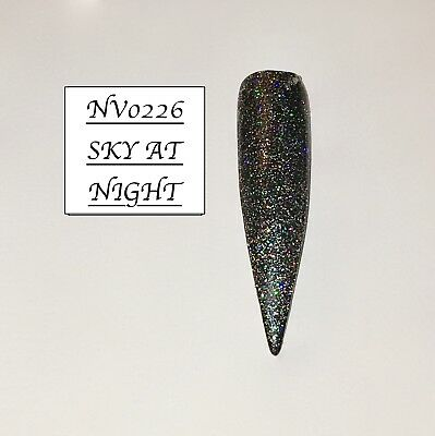 Sky At Night Highly Glittered Acrylic Powder 10G Bag Please See Description