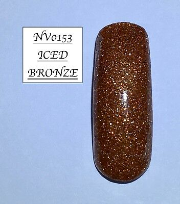 Old Bronze Glittered Acrylic Powder 10G Bag Please See Description
