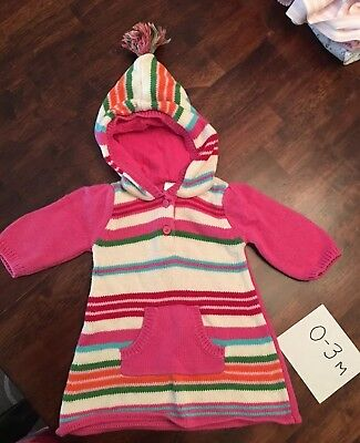 Toddler Girls Baby Gap Red Fair Isle Holiday Sweater Dress Size 3 ...