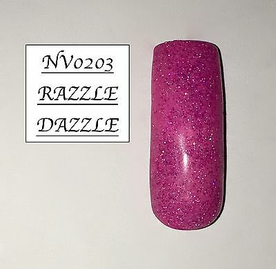 Razzle Dazzle Glittered Acrylic Powder 10G Bag Please See Description