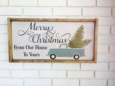 From Our House To Yours, Merry Christmas, Our Home to Yours, Merry Xmas, Framed