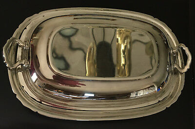 Reed and Barton Mayflower Silverplated Serving Warming Dish