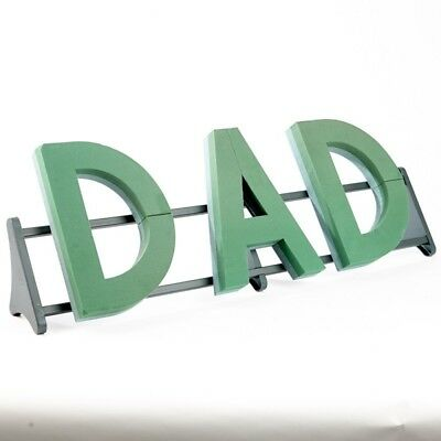Oasis® Foam Frames®  Extra Large Dad Name Funeral  Floral Tribute Sku 00725