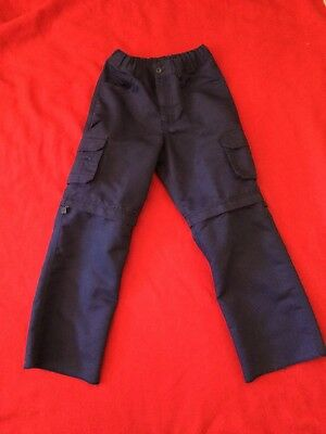Boys Scout Blue Cargo Switchback Youth 10 Pants BSA