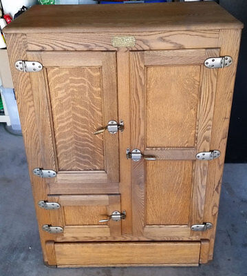 Antique (Restored) Ice Box - $300 (Henderson, NV) - Local Pick Up Only