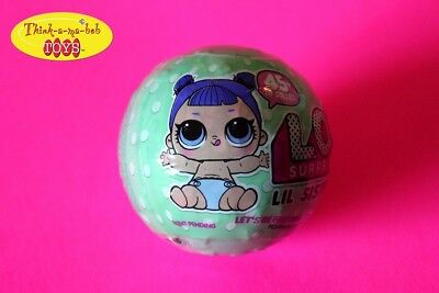LOL Surprise Doll SERIES 2Lil Little Sisters 5 Layers L.O.L. AUTHENTIC1 BALL