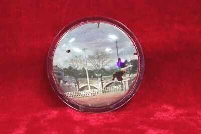 1850's Old Vintage Antique Beautiful Solid Glass Paper Weight Collectible PK-71