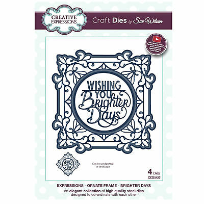 Craft Dies ced5422 Sue Wilson Expressions Kollektion - Ornament Rahmen: Heller