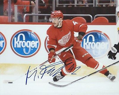 Martin Frk Signed 8x10 Photo Detroit Red Wings Autographed COA B 7574d9f51a0b
