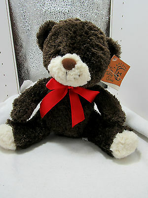 """Tim Hortons TIM TEDDY  Care Bear 10""""  Plush Snout Paws Canada's Coffee NWT"""