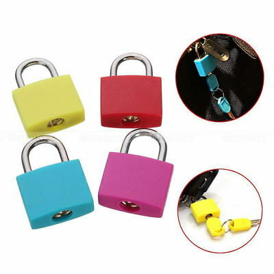 Travel Suitcase Luggage Diary Lock Plastic + Metal Lock Padlock Set With 2 Key