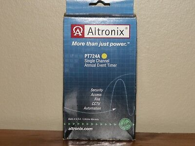 ALTRONIX PT724A Timer- Annual Event 1Ch 365 Day/24 Hr.