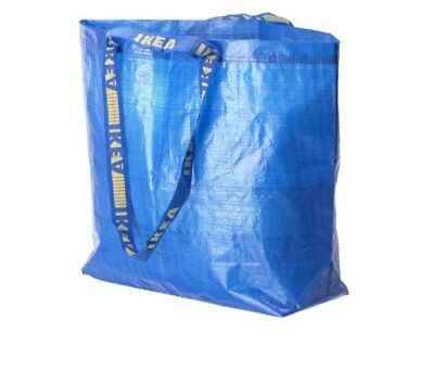 5x IKEA LARGE BAG Shopping Grocery Laundry Storage Tote ECO Bags Strong FRAKTA