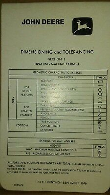John Deere  drafting Booklet