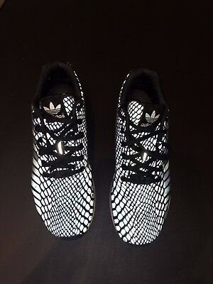 more photos a6f8b b2a73 ADIDAS XENO ZX Flux Mens Shoes Size 9 Black Reflective Size 9 Black  Reflective