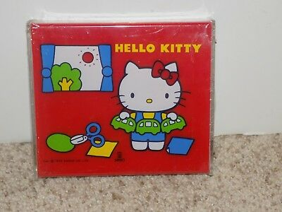 Vintage Hello Kitty Note Dispenser Plastic Sanrio 1976 Made in Japan