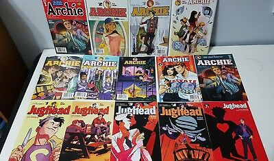 Archie 1 2 3 4 5 6 7 8 Jughead 1-5 New Riverdale lot of 14 comics 2015 reboot