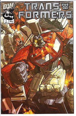 Transformers Generation 1 #1 Chrome Variant Cover Nm 2002 Dreamwave Hasbro