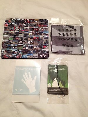 Mini Cooper gadgets, mousepad, buff and more!