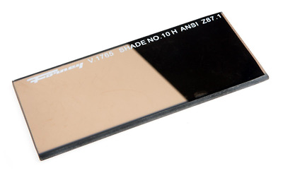 Forney 57061 Lens Replacement Gold Welding Filter, 2-Inch-by-4-1/4-Inch Shade-10
