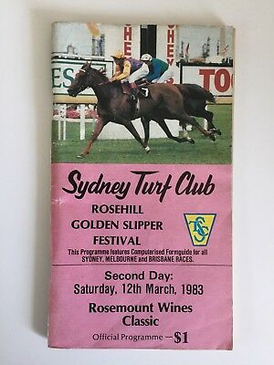 1983 Coolmore and Ranvet race book