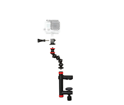 Joby Action Clamp w/ GorillaPod Arm For Action Cameras w/ GoPro Tripod Mount New