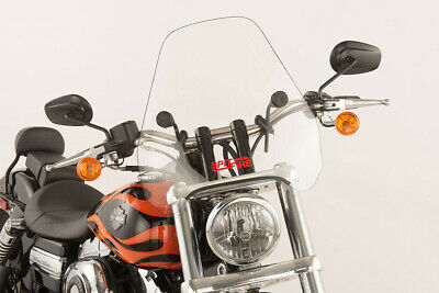 Slipstreamer S-06-CHR-C Motorcycle Windshield Clear