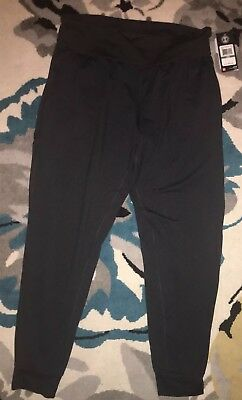 Women's Under Armour Fitted Coldgear Leggings MD Running Black Athletic