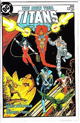 The New Teen Titans #1 Nm- 1984 Marv Wolfman George Perez Nightwing Dc Comics
