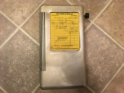 Vintage 1950s Moore Wiz Portable Invoice Receipt Gas Service Station Industrial