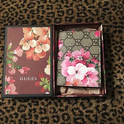 Gucci Blooms Card Case Small Wallet