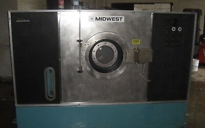 midwest petroleum dry cleaning machine 2 bath 100 lb