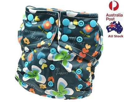 Baby Reusable Waterproof Pocket Nappy Cloth Diaper Wrap Double Gussets 113001