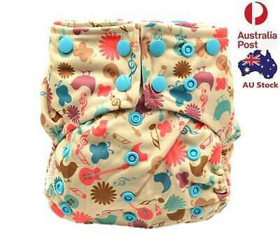 Pocket Nappies Baby Cloth Nappy Diaper Double Gussets Design for Summer 113003