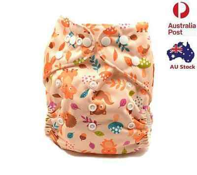 New Pocket Nappy Unisex Baby Summer Cloth Nappies Diapers Double Gussets 113005