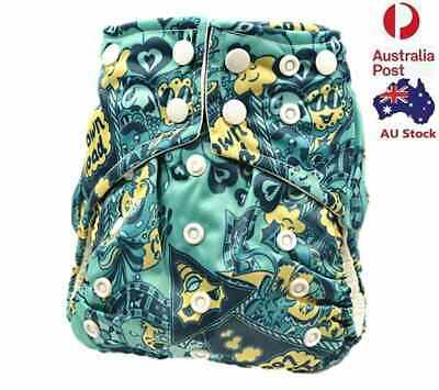 Baby Pocket Nappies Baby Boy Boyish Cloth Nappy Diapers Double Gussets 113007