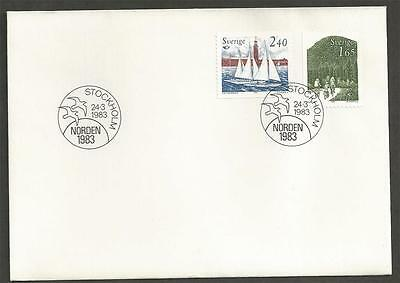 SWEDEN -  1983 Norden    - FIRST DAY COVER.