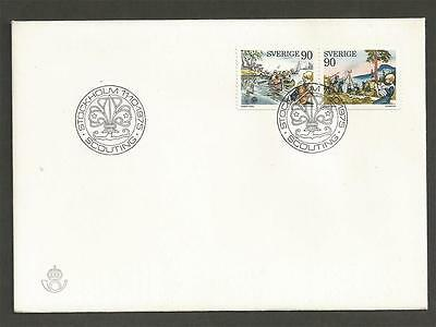 SWEDEN - 1975 Scouting     - FIRST DAY COVER