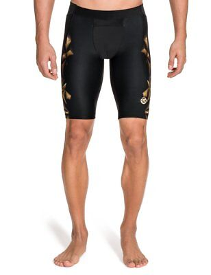 Skins Mens A400 Short Tights - Gold, Medium