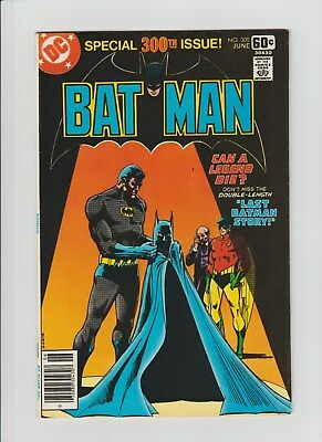 Batman #300 (Jun 1978, DC) VF (8.0) Double Size Issue !!!!!!