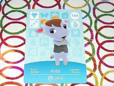 Amiibo Animal Crossing Card Kidd no. 134 Top