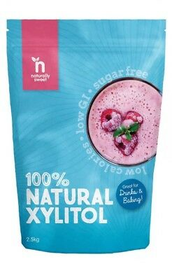 ✅Naturally Sweet Xylitol - 2500g Pouch - Natural Sweetener