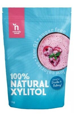 ✅Naturally Sweet Xylitol - 1000g Pouch - Natural Sweetener
