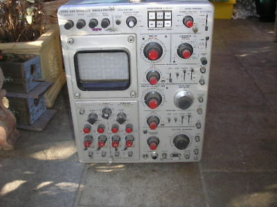 Tektronix Type 549 Oscilloscope, Beautifull Old School Scope,can Courier.