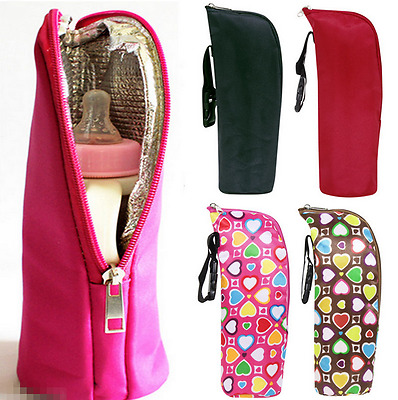 Baby Kid Feeding Milk Bottle Warmer Storage Holder Portable Travel Carrier Bag