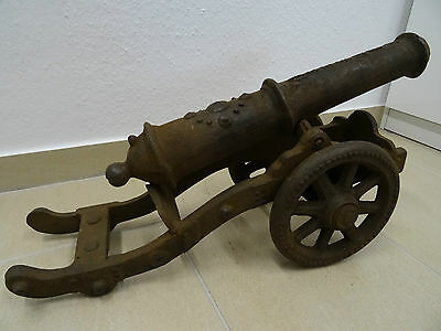 chinesische Modell Kanone aus Gusseisen - Chinese model cannon, cast iron Qing